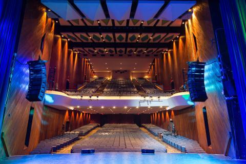 Berklee Performance Center from stage