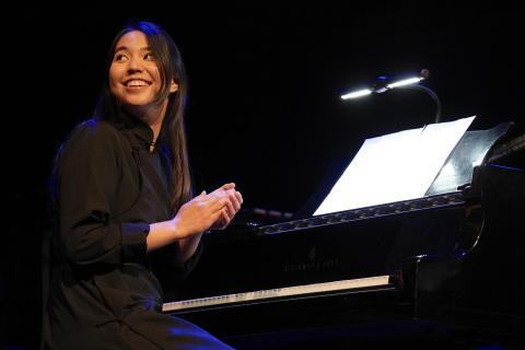 Shuteen Erdenebaatar received a scholarship to Berklee's Aspire: Five-Week Music Performance Intensive