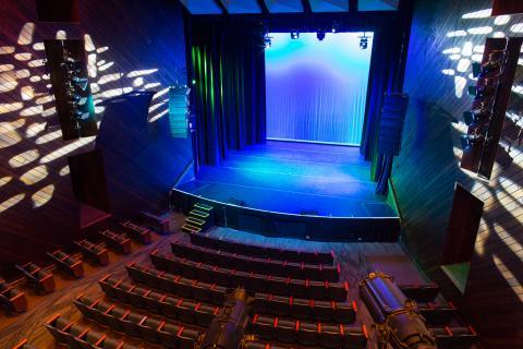 Berklee Performance Center stage