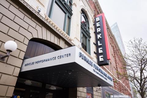 Berklee Performance Center facade