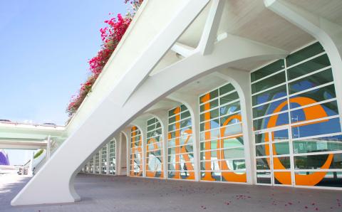Entrance to Berklee campus in Valencia, Spain