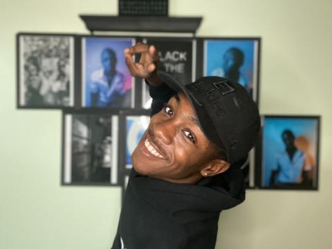 Berklee student Marlon Solomon