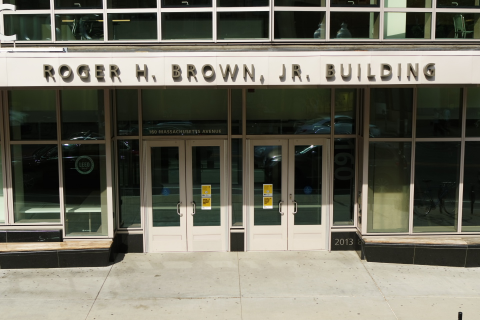 The Roger H. Brown Building at 160 Massachusetts Avenue