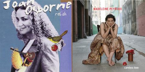 Image of Madeleine Peyroux and Joan Osborne album covers