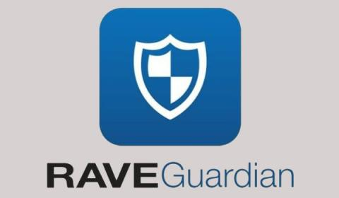 Logo for the Rave Guardian app