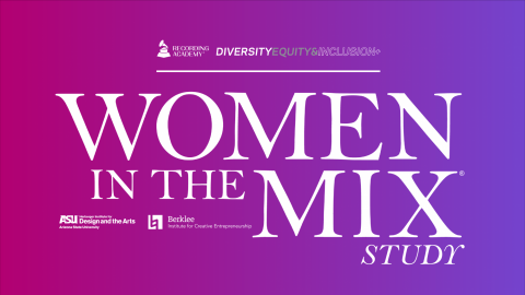 Logo for the Women in the Mix Study