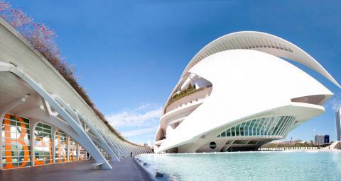 Photo of Berklee's campus in Valencia, Spain