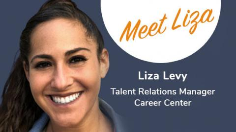 Meet Liza Levy: Talent Relations Manager